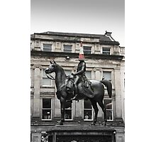Glasgow, Duke of Wellington Photographic Print