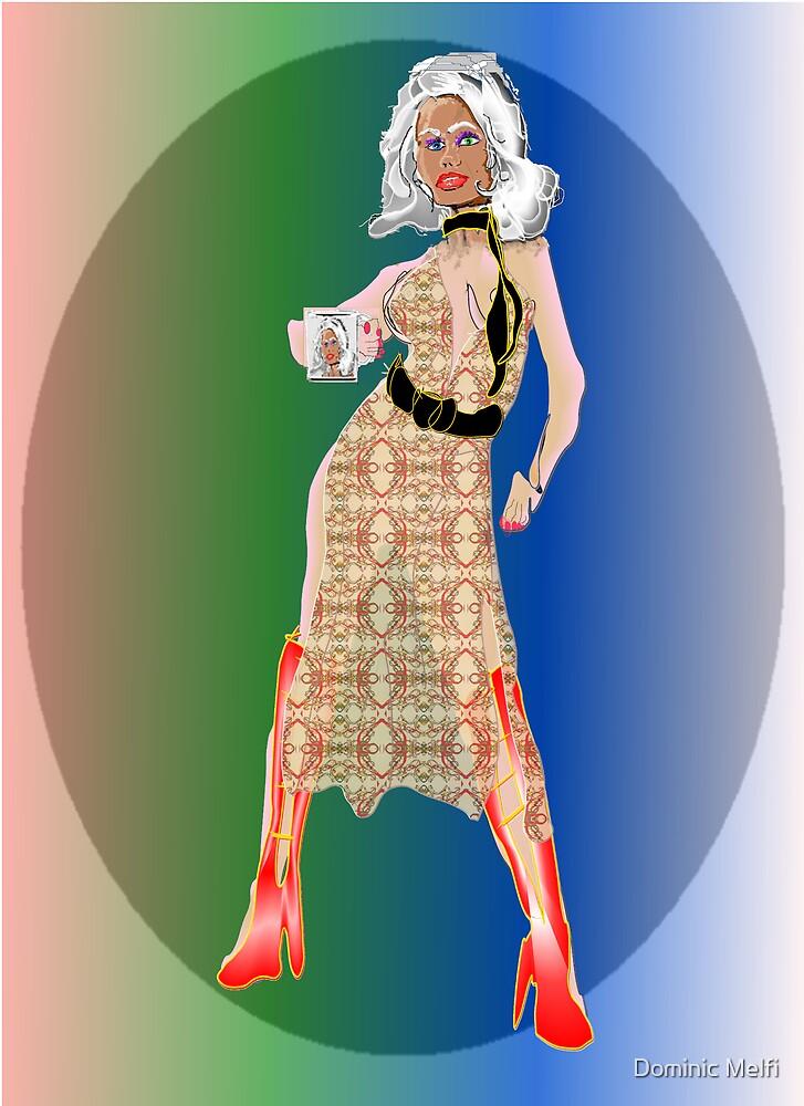 Niki In fashion Garments by Dominic Melfi