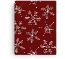 Snowflake Mix Option 2 Canvas Print