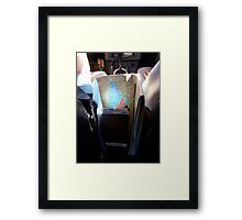 traveling with my 2 favoutie allies Framed Print