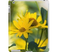 yellow flower in spring iPad Case/Skin