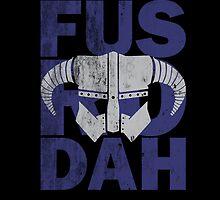 Skyrim - Fus Ro Dah by offbeatzombie