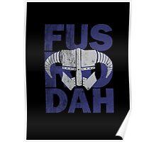 Skyrim - Fus Ro Dah Poster