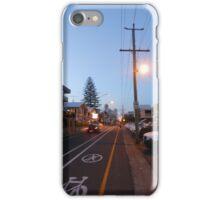 Iconic Hedges Avenue, Mermaid Beach iPhone Case/Skin