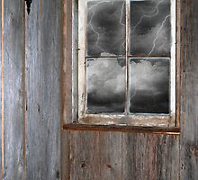 Lightning Striking Again by Maria Dryfhout