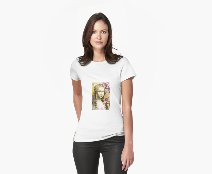 Lady with Happy Heart by Melanie  Dooley