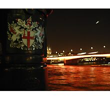 Thames Ebb and Flow Photographic Print