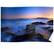 San Juan Sunset Poster