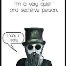 Secretive man by Jenny Wood