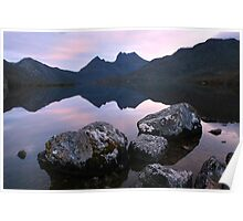 Dove Lake Dawn, Cradle Mountain, Tasmania Poster