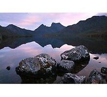 Dove Lake Dawn, Cradle Mountain, Tasmania Photographic Print