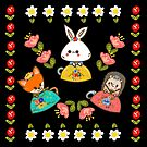 Folksy Trio by fluffymafi