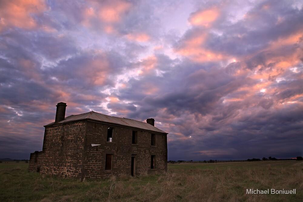 Moolort Bluestone Building (Circa 1865), Australia by Michael Boniwell