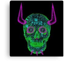 skull of unkindness  Canvas Print