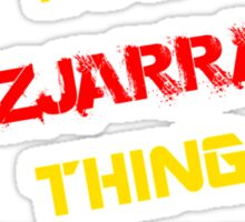 It's a FITZJARRALD thing, you wouldn't understand !! Sticker
