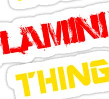 It's a FLAMINIA thing, you wouldn't understand !! Sticker