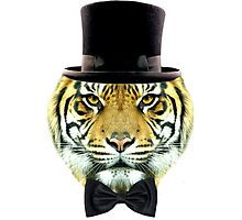 formal tiger Photographic Print