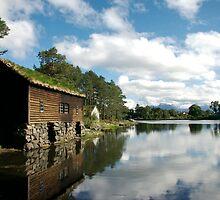 Lakeside Norwegian Hut by Grace Leung