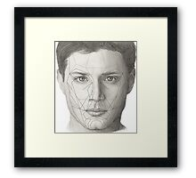 Dean Winchester and The Golden Ratio Framed Print