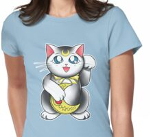 Lucky Venusian Cat Womens Fitted T-Shirt