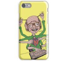 Crazy Multitasking Nerd iPhone Case/Skin