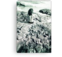 summer gaze Canvas Print