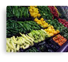 Peppers Aplenty Canvas Print