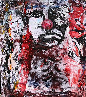 Sad Clown by ADRIAN CACERES BIANCHI