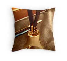 Angels are getting their wings Throw Pillow