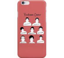 Youtube Crew iPhone Case/Skin