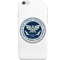 Hyrule University - Swords, Bombs & Bows iPhone Case/Skin