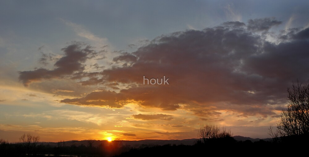 Sunset 2 by houk