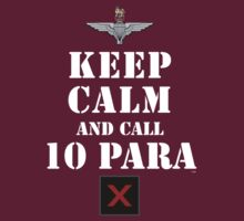 KEEP CALM AND CALL 10 PARA by PARAJUMPER