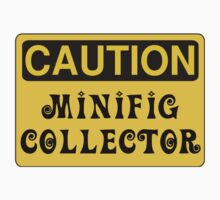 Caution Minifig Collector Sign  One Piece - Long Sleeve
