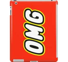 OMG  iPad Case/Skin