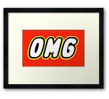 OMG  Framed Print