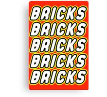 BRICKS BRICKS BRICKS BRICKS BRICKS Canvas Print