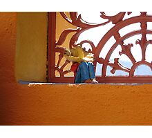 Mexican in a Sombrero Photographic Print