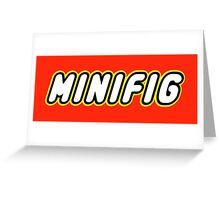 MINIFIG Greeting Card