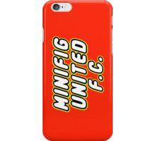 MINIFIG UNITED FC iPhone Case/Skin