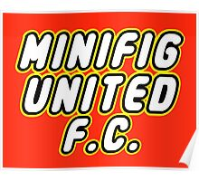 MINIFIG UNITED FC Poster