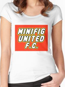 MINIFIG UNITED FC Women's Fitted Scoop T-Shirt