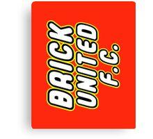BRICK UNITED FC Canvas Print
