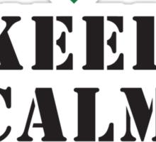 KEEP CALM AND CALL 15 PARA Sticker