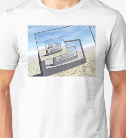 Surreal Monitors Infinite Loop Unisex T-Shirt