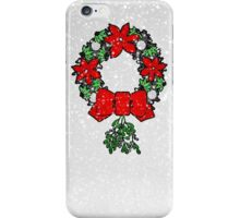 Tri Christmas Wreath iPhone Case/Skin