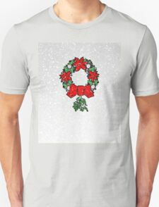 Tri Christmas Wreath T-Shirt
