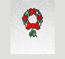 Tri Christmas Wreath Unisex T-Shirt