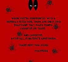 Deadpool Quote by KewlZidane