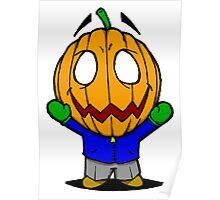 Halloweenies Pumpkin Jacko Poster